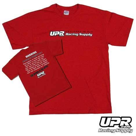 UPR Warning Label T-Shirt