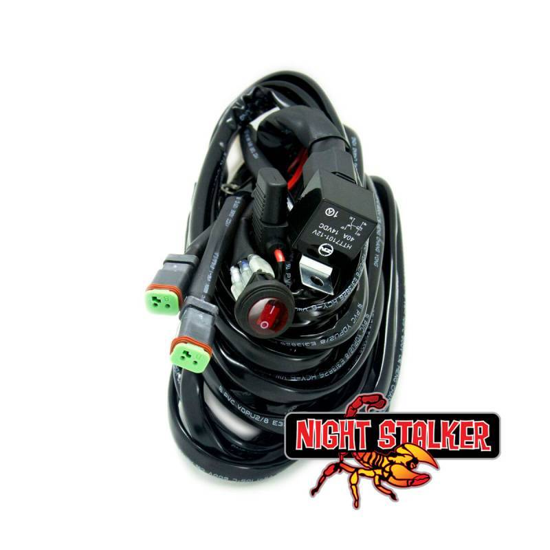 Night Stalker Wiring Harness, LED Lightbars - Twin Lights | UPR Racing  SupplyUPR Racing Supply
