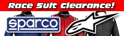 Race Suit Clearance