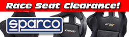 Sparco Racing Seats Clearance