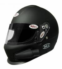 Bell - Bell BR-1 Off Road Forced Air, Small (57), Matte Black, Top Air