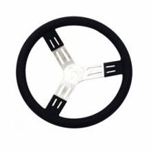 "Longacre - Longacre Steering Wheel 15"" Black Smooth Grip"