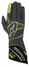 Alpinestars - Alpinestars Tech 1-KX Karting Gloves Anthracite/Black/Yellow Fluo Large