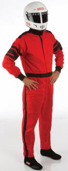RaceQuip - RaceQuip Racing Suit 1 Layer    Red Medium - Image 1