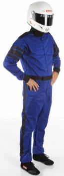 RaceQuip - RaceQuip Racing Suit 1 Layer |  Blue Small - Image 1