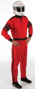 RaceQuip - RaceQuip Racing Suit 1 Layer |  Black Med-Tall - Image 1