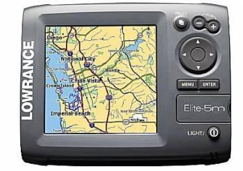 Lowrance - Elite 5m Baja Off-Road GPS Chartplotter