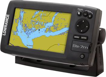 Lowrance - Elite 7m Off-Road GPS Chartplotter