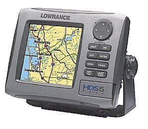 Lowrance - HDS-5 Baja Off-Road GPS Chartplotter
