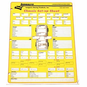 Longacre - Longacre Setup Sheets - Image 1
