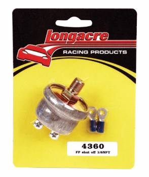 Longacre - Low Oil Pressure Ignition Cut Off