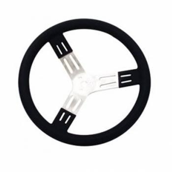 "Longacre - Longacre Steering Wheel 15"" Black Smooth Grip"