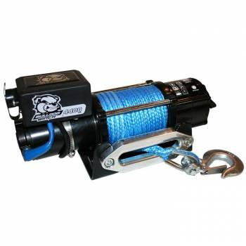 Bulldog Winch - Bulldog 4400lb Winch w/ Synthetic Rope