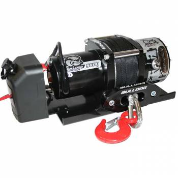 Bulldog Winch - Bulldog 5800lb Winch w/ Synthetic Rope