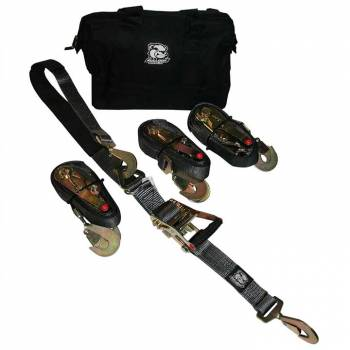 Bulldog Winch - Bulldog 5pc Ratcheting Axle Strap Set - Image 1