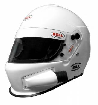 Bell - Bell BR-1 Off Road Forced Air, Medium (58-59), White, Side Air