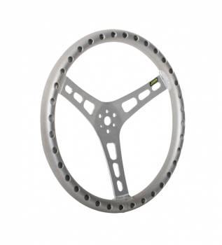 """Joes Racing - Joes 13"""" Dished Steering Wheel, Aluminum"""