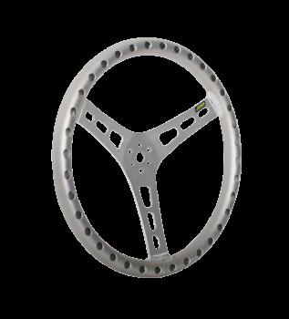 """Joes Racing - Joes 17"""" Dished Steering Wheel, Aluminum"""