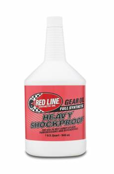 Red Line Synthetic Oil - Red Line Shock Proof Gear Oil - Heavy