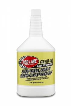 Red Line Synthetic Oil - Red Line Shock Proof Gear Oil - Super Light