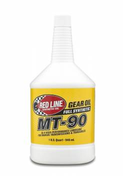 Red Line Synthetic Oil - Red Line Synthetic Gear Oil - 75W90 - Image 1