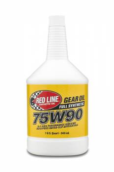 Red Line Synthetic Oil - Red Line Synthetic Gear Oil - 75W90