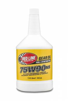 Red Line Synthetic Oil - Red Line Synthetic Gear Oil - 75W90NS