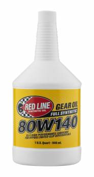 Red Line Synthetic Oil - Red Line Synthetic Gear Oil - 80W140