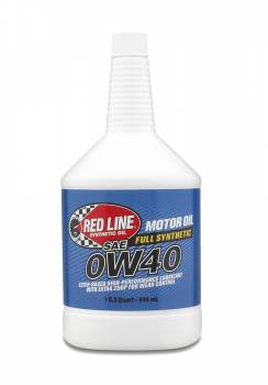 Red Line Synthetic Oil - Red Line Synthetic Motor Oil - 0W40 - Image 1