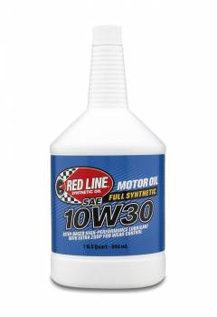 Red Line Synthetic Oil - Red Line Synthetic Motor Oil - 10W30