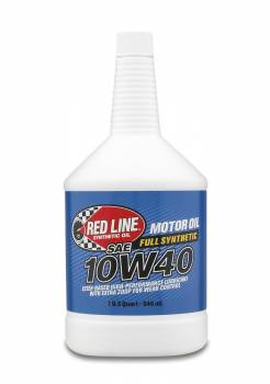 Red Line Synthetic Oil - Red Line Synthetic Motor Oil - 10W40