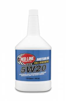 Red Line Synthetic Oil - Red Line Synthetic Motor Oil - 5W20