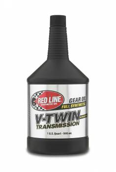 Red Line Synthetic Oil - Red Line Synthetic V-Twin Transmission Oil - 20W60 - Image 1