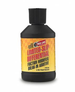 Red Line Synthetic Oil - Red Line Friction Modifier - 4 oz.