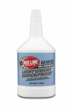 Red Line Synthetic Oil - Red Line Shock Proof Gear Oil - Light
