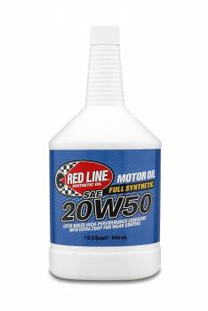 Red Line Synthetic Oil - Red Line Synthetic Motor Oil - 20W50