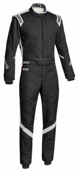 Sparco Closeout  - Sparco Victory RS7 Racing Suit Black/Gray 58 - Image 1