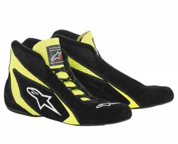 Alpinestars - Alpinestars SP Shoe 2018 Black/Yellow Fluo 9 - Image 1