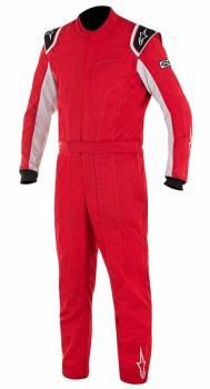Alpinestars Closeout - Alpinestars Delta Suit Red/Silver 60 - Image 1