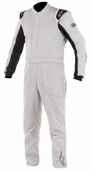 Alpinestars - Alpinestars Delta Suit Silver/Black 56
