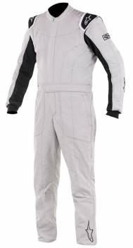 Alpinestars - Alpinestars Delta Suit Silver/Black 58
