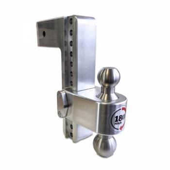 """Weigh Safe - 180 Degree Hitch 10"""" Drop w/ 3"""" Receiver - Image 1"""