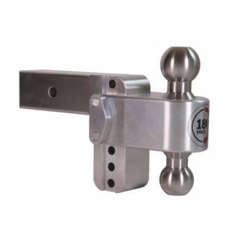 "Weigh Safe - 180 Degree Hitch 4"" Drop w/ 2.5"" Receiver"
