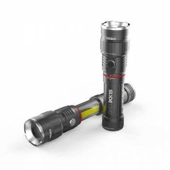 NEBO  - NEBO Slyde King Rechargeable 330+ Lumen LED Flashlight