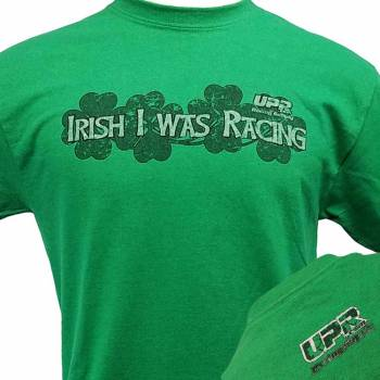UPR - UPR Irish I was Racing T-shirt X Large - Image 1