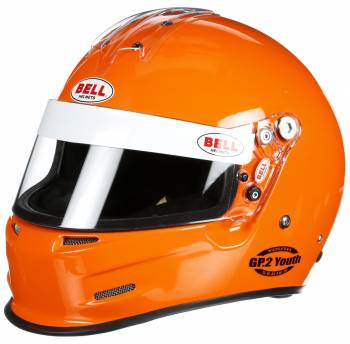 Bell - Bell GP.2 Youth Racing Helmet, Orange - Image 1