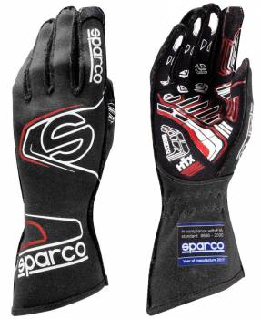 Sparco Closeout  - Sparco Arrow RG-7 Evo Black/Red Large - Image 1