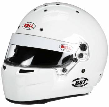 Bell - Bell RS7, White 6 7/8 (55) - Image 1