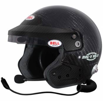 Bell - Bell Mag-9 Carbon Rally Carbon Fiber 7 5/8 Plus (61+) - Image 1