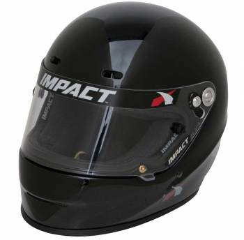 Impact Racing - Impact Racing 1320 No Air, X Large, Gloss Black - Image 1